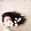 48: The Kiss (Olga Sotiriadou) Tags: wallpaper selfportrait flower texture photomanipulation photoshop square petals kiss sp romantic imagemanipulation 500x500 bsquare