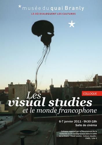 """Colloque """"Les visual studies et le monde francophone"""""""
