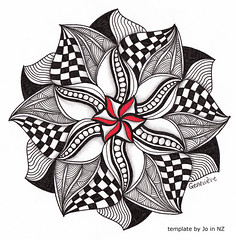 mandala004 (Amaryllis Creations) Tags: mandala penink zentangle