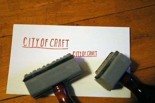 city of craft stamps