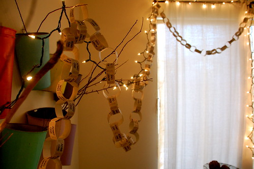 our version of the paper chain