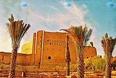 ruins in riyadh (zbigphotography (1M+ views)) Tags: blue sky brown colors buildings palms nikon ruins artistic textures saudi arabia historical riyadh galleryoffantasticshots