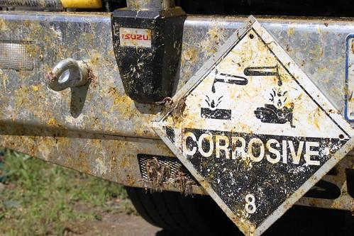 Corrosive locusts