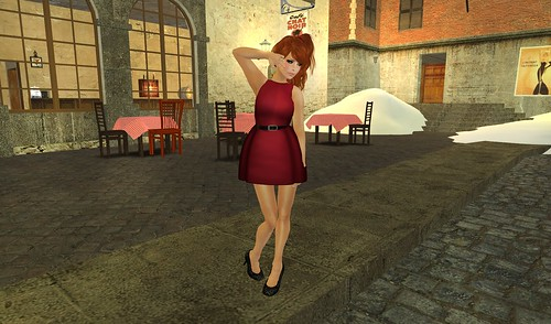 (Elate!) dress in red ♥