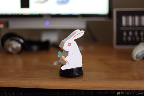 2011 Year of the Rabbit Papercraft 001