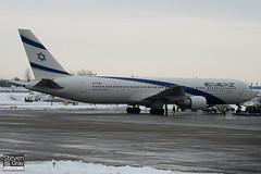 4X-EAR - 26262 - El Al Israel Airlines - Boeing 767-352ER - Luton - 101220 - Steven Gray - IMG_7100