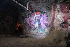 Catacombes - Toad () Tags: streetart paris art graffiti urbanart toad catacombs catacombes artderue laplage