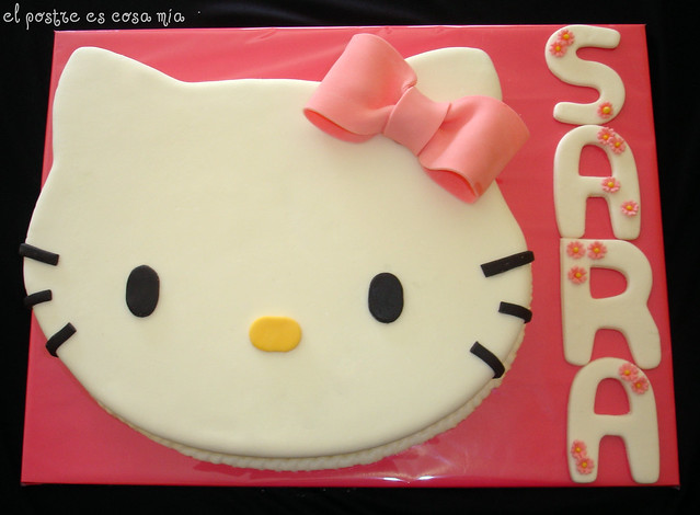 Tarta Cara Hello Kitty