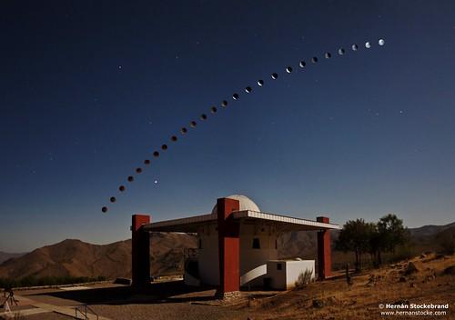 Mamalluca Lunar Eclipse