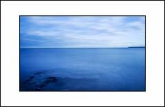 Icy Blue Day - Scottish Coast (Magdalen Green Photography) Tags: longexposure scotland pretty broughtyferry freezing scottish coolblue scottishcoast dsc8113 iaingordon scottishwinterscene icyblueday