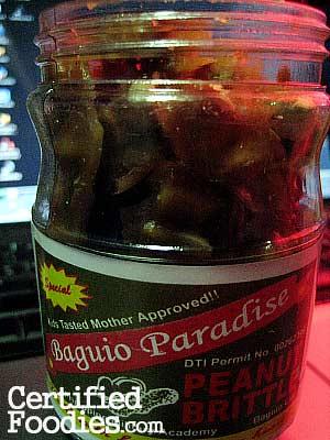 Baguio Paradise Peanut Brittle - CertifiedFoodies.com