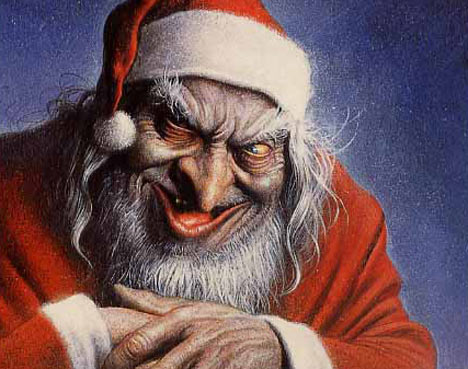 Santa Claus te llevará al infierno
