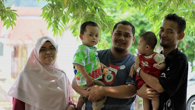 bg ujang's family