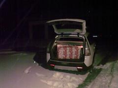 Santa's Saab