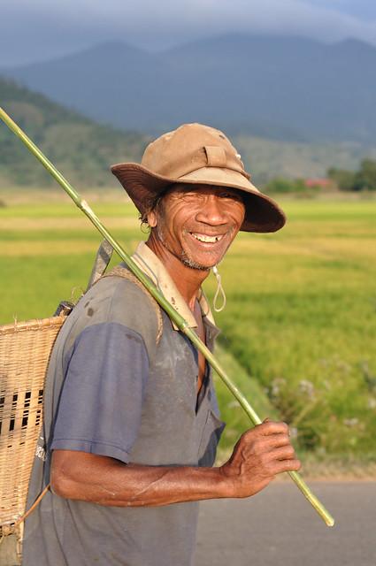 a villager
