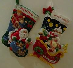 Jólasokkar (unnurol) Tags: christmas decor jólaföndur bucilla jólasokkar