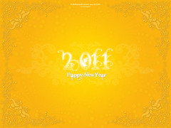 Happy New Year - 2011 [Orange] (MIDO) Tags: new happy year newyear egyptian happynewyear  mido 2011   midodesigns  mohamedhussein