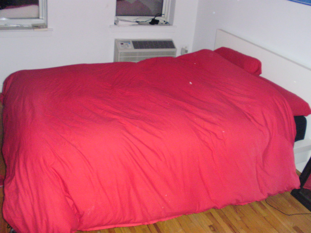 2 complete sets of full size beds from Ikea including:
