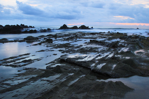 Sunset - Sawarna Beach