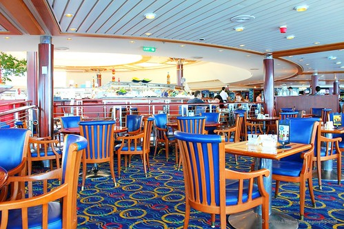 Also on Deck 9, the Windjammer Cafe! The Windjammer is open pretty much all ...