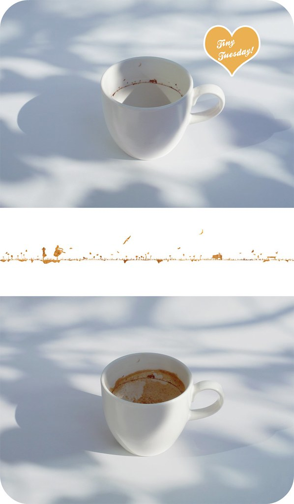 tiny tuesday: yukihiro kaneuchi's landscape in a coffee cup