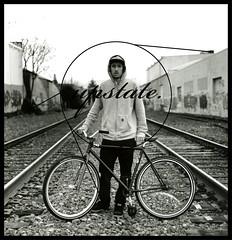 upstate: jordan (Micah Fischer) Tags: bike portland fun track upstate pdx fixedgear trick