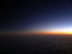 Rising Sun Above the Sky - 2 (iFadey) Tags: above travel blue light sky sun black clouds plane dark rising day air gradient hassan rise aero fawad concordians ifadey