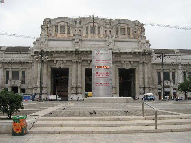 ミラノ中央駅のフリー写真素材