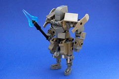Iron Guardian (Ironsniper) Tags: dark gray bley brickarms