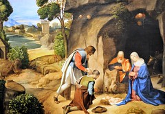 Giorgione - The Adoration of the Shepherds at National Art Gallery Washington DC (mbell1975) Tags: usa art museum painting smithsonian us dc washington italian gallery musee national masters adoration shepherds the giorgione