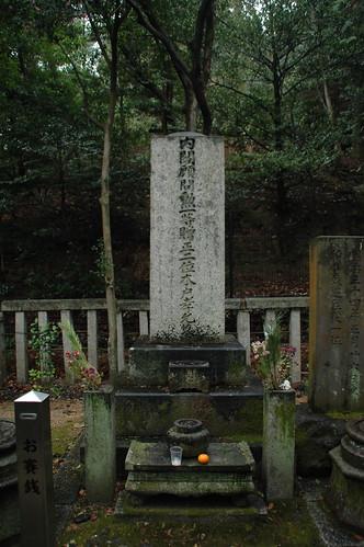 木戸孝允(桂小五郎)の墓