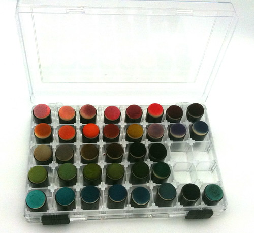 Color Chart for Ranger Distress Inks