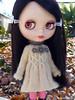 For Jackie (minami626) Tags: dress knit mohair blythe np smocking