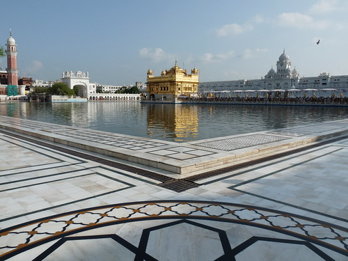 Amritsar India the golden temple