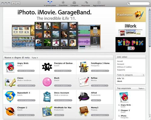 Mac App Store (home)