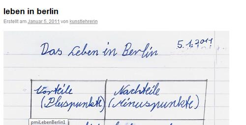 Vor-und Nachteile des Lebens in Berlin