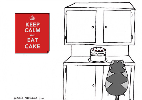THIS IS SAD FACE - KEEP CALM - CAKE