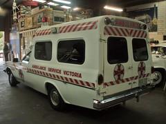 1982 Holden WB 1 Tonner ambulance (sv1ambo) Tags: 1982 gm general district wb victoria ambulance motors alexandra historical service society holden 1tonner