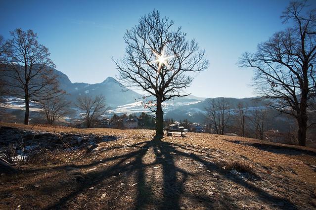 Inverno sulle Dolomiti