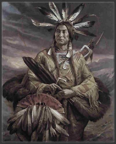 Roman Nose,Cheyenne,légende,belle image, Amérindiens