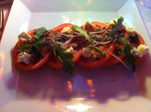 Nouveau Steakhouse - Vine-Ripened Tomatoes with Gorgonzola