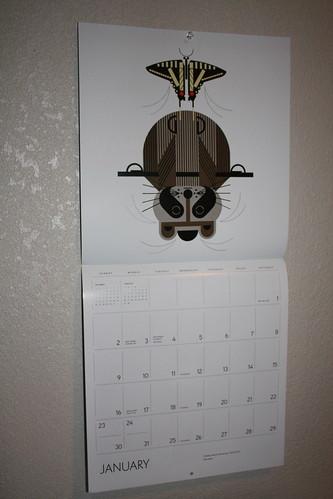 Charley Harper calendar
