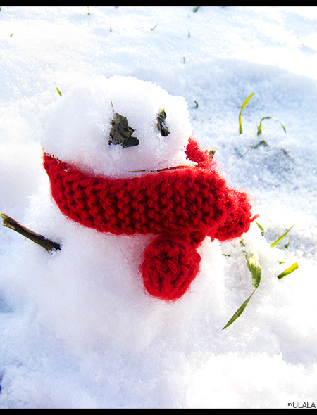 Andrea & the snowman