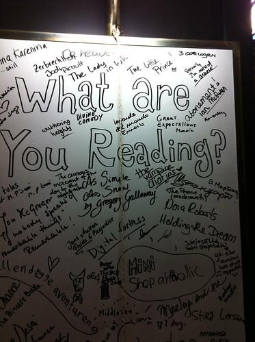 Hva leser du nå?