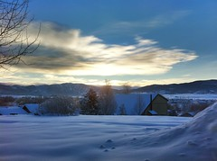 Sunrise over Steamboat