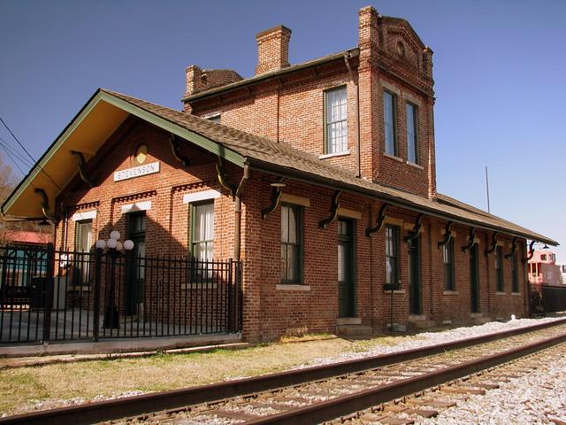 Stevenson, AL Train Depot (version B)
