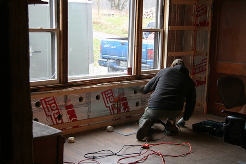 insulating the kitchen