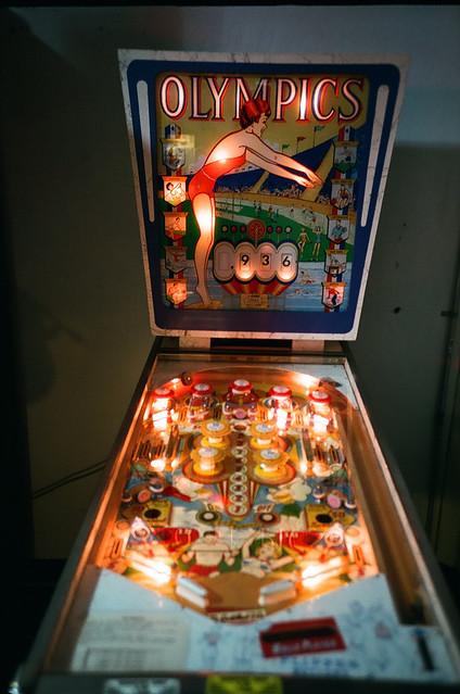Olympics Pinball