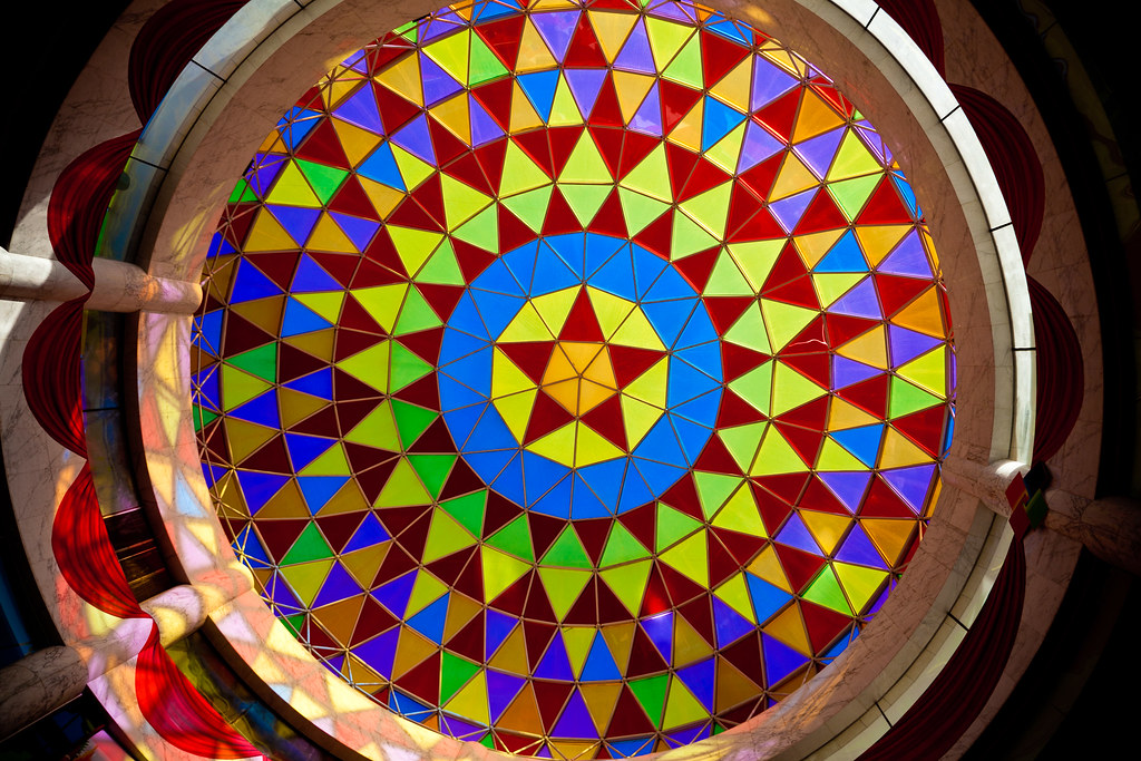 Colourful Ceiling