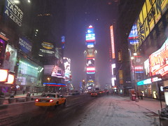 Times Square NYC during the blizzard of 2011 (RYANISLAND) Tags: nyc newyorkcity winter snow ny newyork cold weather photo photos broadway 11 timessquare newyearseve snowing blizzard extremeweather stockphoto 212 winterweather balldrop 10036 stockphotography 2011 timessquarenyc timessquarenewyorkcity newyearseveballdrop areacode212 zipcode10036 wwwtimessquarenycorg nycarchive